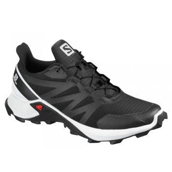 buty salomon supercross m biało-czarne