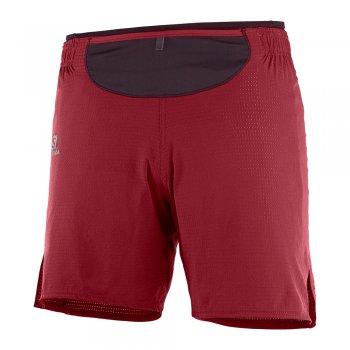 salomon sense shorts m czerwone