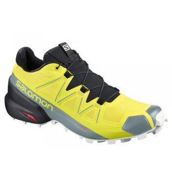 buty salomon speedcross 5 m czarno-Żółte