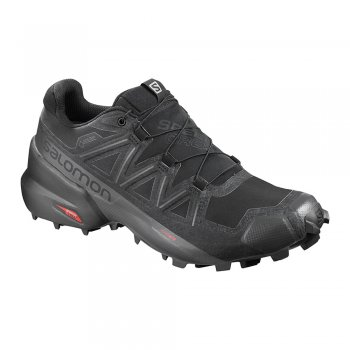 buty salomon speedcross 5 gtx black/black/phantom