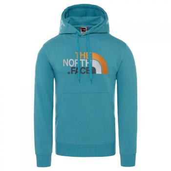 bluza the north face m lt drew peak po hd storm blu