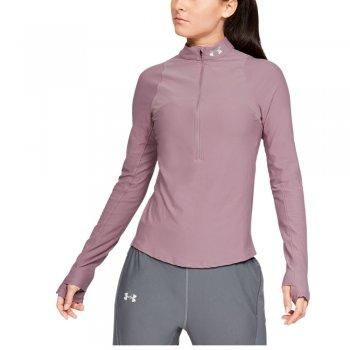 bluza under armour qualifier half-zip w pastelowo-fioletowa