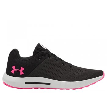 buty under armour ua micro g pursuit w różowo-grafitowe