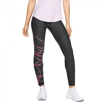 legginsy under armour vanish leggings poised graphic w grafitowo-czarne