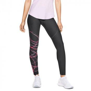 legginsy under armour vanish leggings poised graphic w grafitowo-czarne