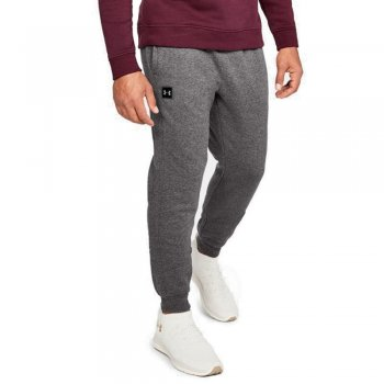 spodnie under armour rival fleece jogger m szare