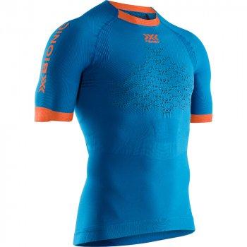 koszulka x-bionic the trick 4.0 run shirt m niebieska