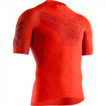 koszulka x-bionic twyce 4.0 run shirt m pomarańczowa