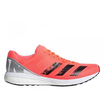 buty adidas adizero boston 8 m pomarańczowo-czarne