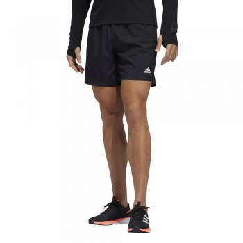 spodenki adidas run it 3-stripes pb shorts m czarne