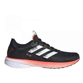 buty adidas sl20 w czarno-pomarańczowe