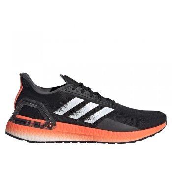buty adidas ultraboost pb m czarno-pomarańczowe