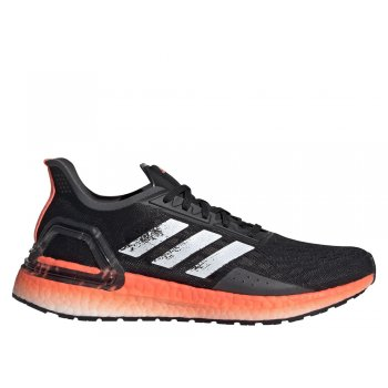 buty adidas ultraboost pb w czarno-pomarańczowe