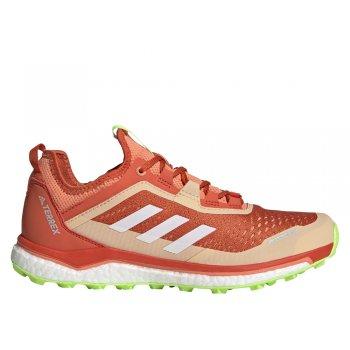 buty adidas terrex agravic flow w pomarańczowe