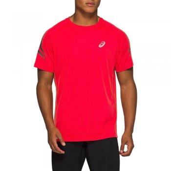 koszulka asics silver icon top m czerwona