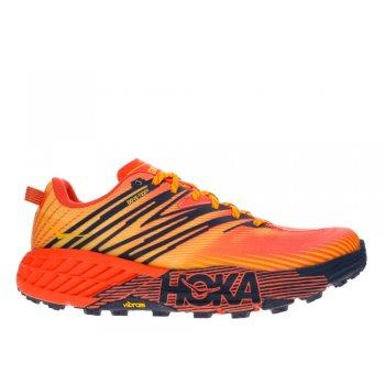 buty hoka speedgoat 4 gtx m pomarańczowe