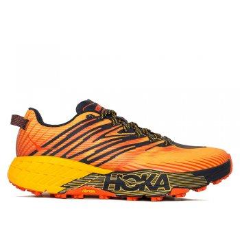 buty hoka speedgoat 4 m pomarańczowe