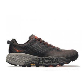 buty hoka speedgoat 4 m szaro-czarne