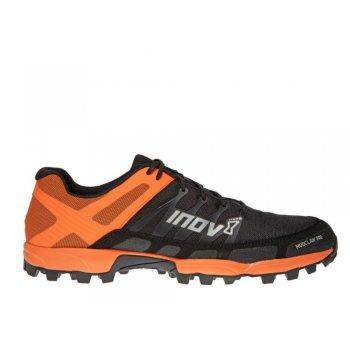 buty inov-8 mudclaw 300 m czarno-pomarańczowe