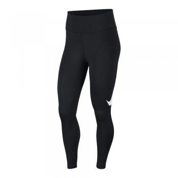 spodnie nike running tights 7/8  w czarne