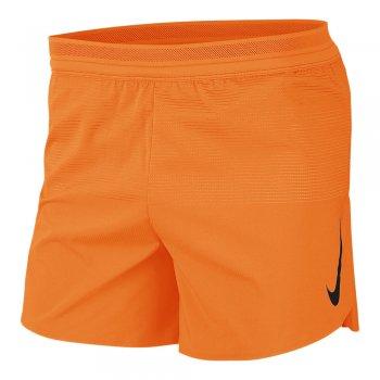 spodenki nike aeroswift shorts 5in m pomarańczowe