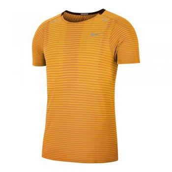 koszulka nike techknit ultra m pomarańczowa
