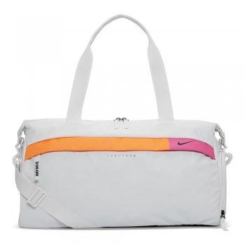 torba nike radiate graphic training duffel bag w biała