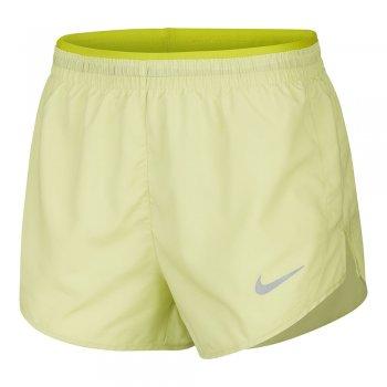 spodenki nike tempo lux 3 in shorts w cytrynowe