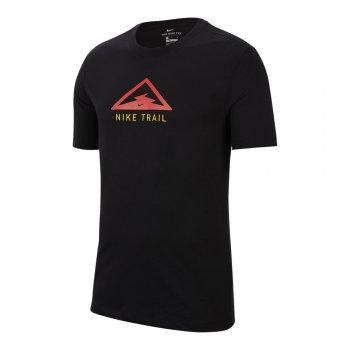 koszulka nike dri-fit tee trail m czarna