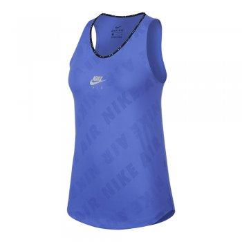 koszulka nike air tank w niebieska