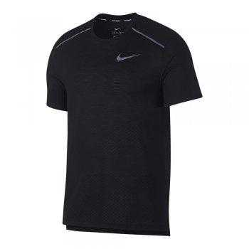koszulka nike breathe rise 365 short-sleeve top m czarna
