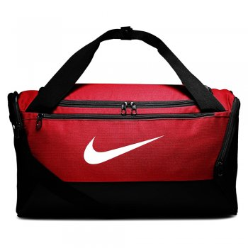 torba nike brasilia training duffel bag small ( 41l) czerwona