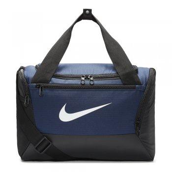 torba nike brasilia training duffle bag extra small (25l) granatowa