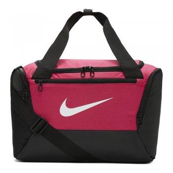 torba nike brasilia training duffle bag extra small (25l) różowa