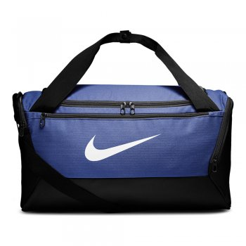 torba nike brasilia training duffel bag small (41l) niebieska