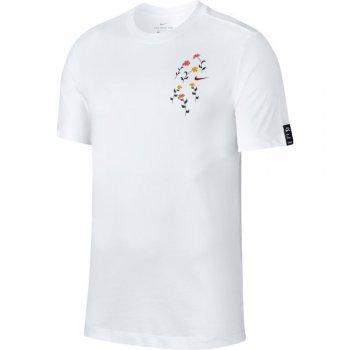 koszulka nike dri-fit tee a.i.r. a savage m biała
