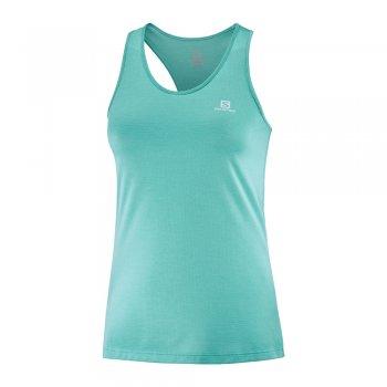 koszulka salomon agile tank w błękitna