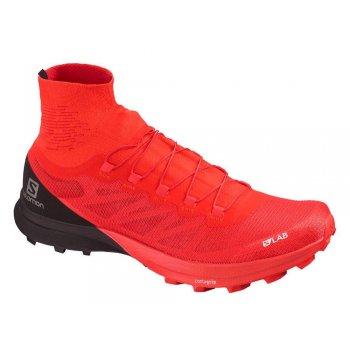 buty salomon s/lab sense 8 sg racing m czerwono-czarne