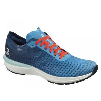 buty salomon sonic 3 accelerate m niebiesko-białe
