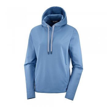 bluza salomon comet mid hoodie w niebieska