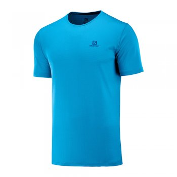 koszulka salomon agile training tee m niebieska
