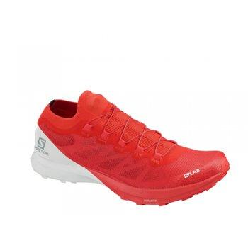 buty salomon s/lab sense 8 racing m czerwono-białe