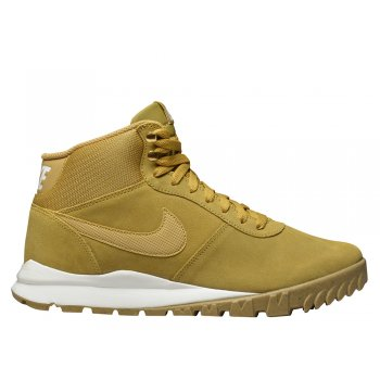 "buty nike hoodland suede ""light brown-metallic gold"" (654888-727)"