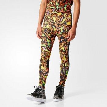 spodnie adidas x jeremy scott psychedelic leggings (ac1819)