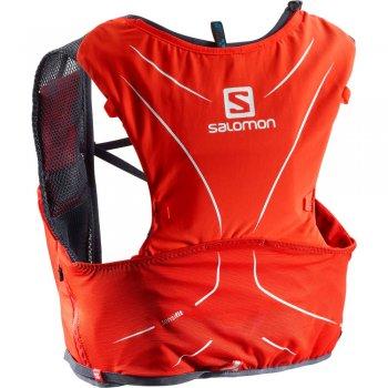 salomon adv skin 5 set czerwony