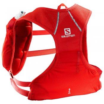 salomon agile skin 2 set czerwony