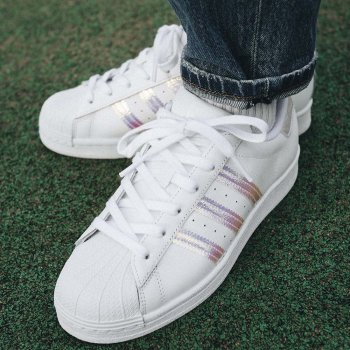 Buty Młodzieżowe adidas Superstar Młodzieżowe Białe ...