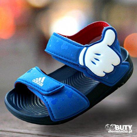 sandały adidas paski