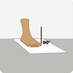 Jak dobrać rozmiar butów Puma - krok 1
