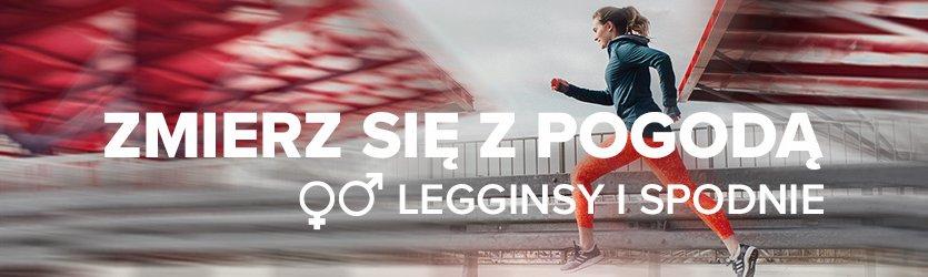 spodnie i legginsy do biegania męskie